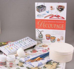 AEQ zestaw masa papierowa + farby z pędzelkiem